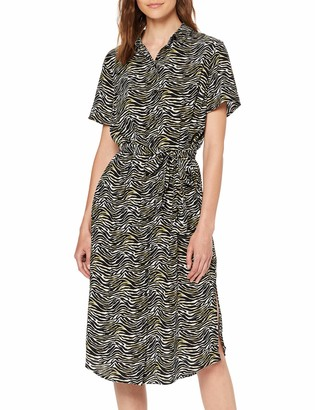 Pieces Women's Pccecilie Ss Long Dress Noos