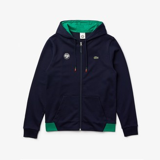 Lacoste Men's SPORT Roland Garros Hooded Zip-Up Sweatshirt
