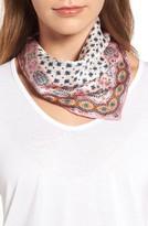 Rebecca Minkoff Women's Topanga Square Silk Scarf