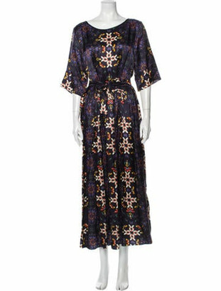 Giada Forte 2016 Long Dress Purple
