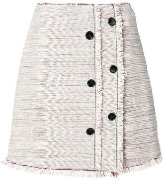 Proenza Schouler Button Detailing Skirt