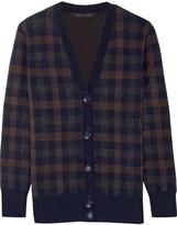 Marc Jacobs Plaid cashmere cardigan