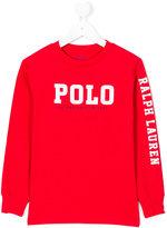 Ralph Lauren logo print sweatshirt
