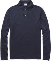 Sunspel - Long-sleeved Cotton-jersey Polo Shirt