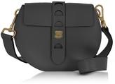 Coccinelle Carousel Mini Black Leather Crossbody Bag