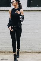 Forever 21 Lace-Up Twill Skinny Pants