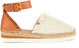 See by Chloe Canvas and leather espadrille sandals