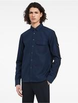 Calvin Klein Platinum Refined Poplin Shirt