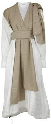 Nina Ricci Dress in stretch technical tartan