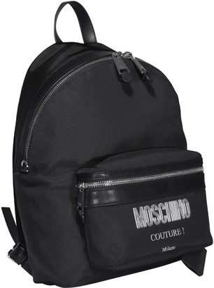 Moschino Couture! Logo Backpack