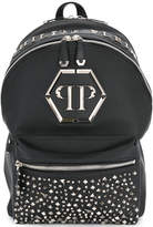 Philipp Plein studded front backpack