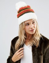 Free People Snow Bound Pom Pom Beanie Hat