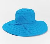 San Diego Hat Co. Wire Brim Ribbon Hat with UPF 50