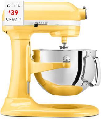 KitchenAid Professional 600 Series 6Qt Bowl Lift Stand Mixer - Kp26m1xmy With $39 Credit