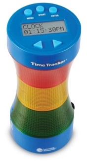 Learning Resources Time Tracker - Visual Timer Clock