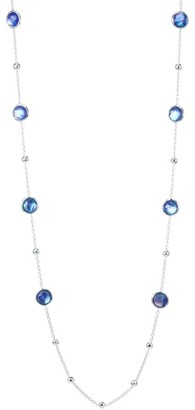 Ippolita Lollipop Sterling Silver & Triplet Ball and Stone Multi-Station Necklace