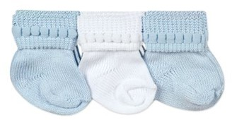 Jefferies Socks Baby Boys Classic Cotton Stay-On Booties, 6-Pack