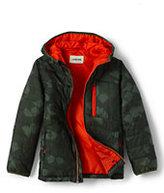 Classic Little Boys Packable Primaloft Jacket-Boreal Moss/Ash Print