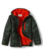 Classic Toddler Boys Packable Primaloft Jacket-Boreal Moss/Ash Print
