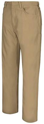 Bulwark Loose Midweight Canvas FR Jeans (Khaki) Men's Jeans