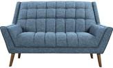 Mid-Century MODERN Demesne Loveseat Corrigan Studio Upholstery Color : Blue