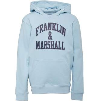 Franklin & Marshall Junior Boys Hoodie Dream Blue