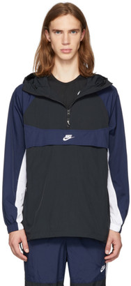 Nike Black and Navy Re-Issue Jacket