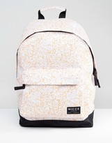 Nicce London Nicce Noise Backpack In White