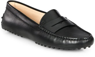 Tod's Gommino Leather Driving Loafers