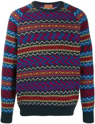 Missoni Tribal pattern jumper