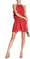 Parker Keyhole Ruffle Dress