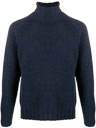 Paul Smith Roll Neck Speckled Knit