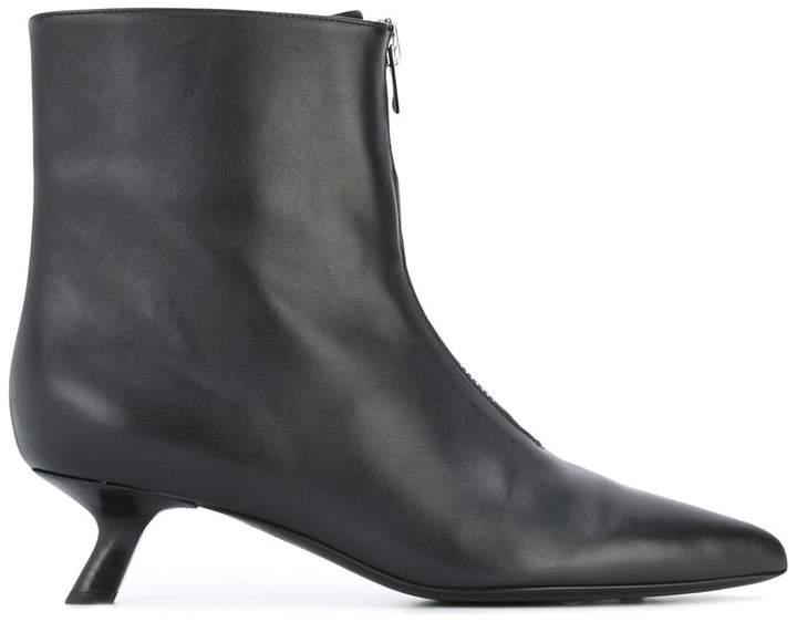 Tom Ford comma heel ankle boots