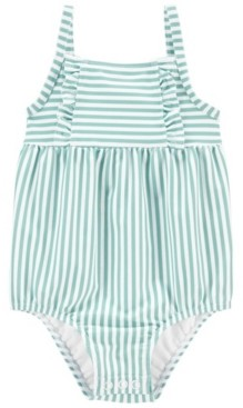 Carter's Baby Girl Striped Swimsuit