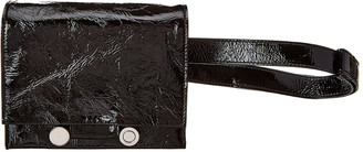 Marni Caddy Crinkle Leather Belt Bag