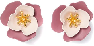 Vince Camuto Flower Clip-On Earrings
