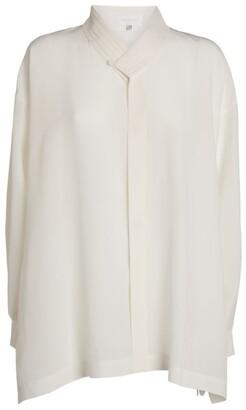 eskandar Silk A-Line Shirt