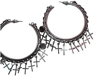 Reminiscence Silver Metal Earrings