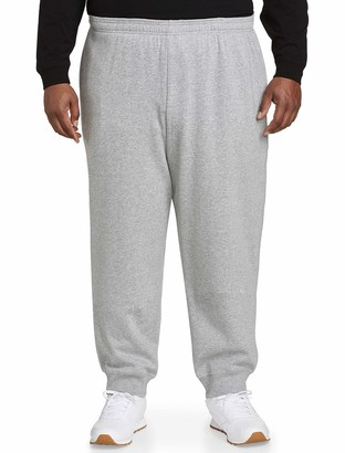 Amazon Essentials Men's Big & Tall Closed Bottom Fleece Pant fit by DXL