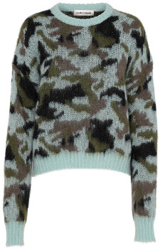 custommade Bay Gina Camouflage Long Sleeves Sweater - xs