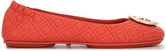 Tory Burch Minnie quilted ballerinas