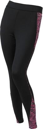 Scuba Activewear Scuba Active Women's Sports Long Ankle Length Leggings Gym Workout Fitness - Black - Size 18/20