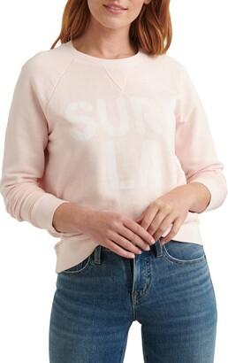 Lucky Brand Surf Graphic Sweatshirt