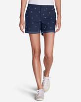 Eddie Bauer Women's Willit Poplin Shorts - Print