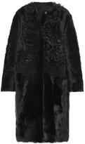 Yves Salomon Reversible Shearling Coat - Black