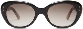 Oliver Goldsmith Sunglasses Sophia 1958 Black & Leopard