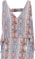 Exclusive for Intermix Leah Sleeveless Print Top