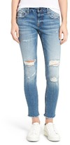 Vigoss Women's Chelsea Distressed Skinny Jeans