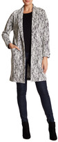 Bobeau Open Front Long Cardigan