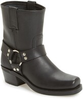 Frye Harness Square Toe Engineer Boot